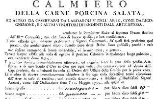 Calmiere 1776