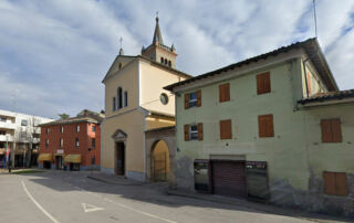01a - Felino, la chiesa parrocchiale